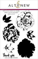 Altenew Build-A-Flower Camellia stanssi- ja leimasinsetti