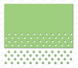 Impression Obsession Circle Cutout Border -stanssi