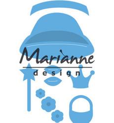 Marianne Design Kim's Buddies girl -stanssisetti