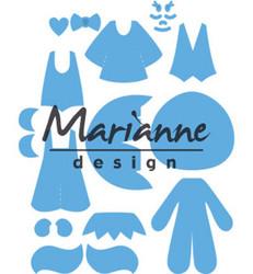 Marianne Design Kim's Buddies -stanssisetti