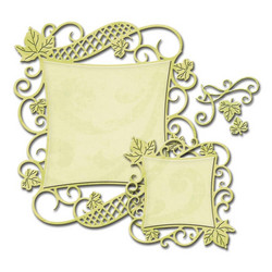 Spellbinders Decorative Curved Square -stanssisetti