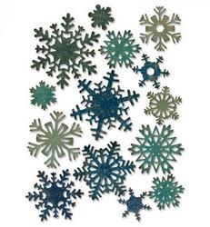Sizzix Tim Holtz Thinlits stanssisetti Paper Snowflakes, mini
