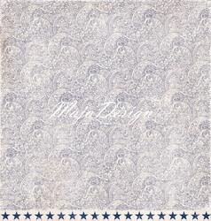 Maja Design Denim & Friends skräppipaperi Worn Indigo