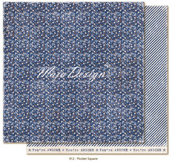 Maja Design Denim & Friends skräppipaperi Pocket square