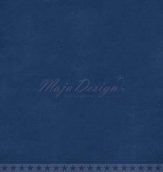 Maja Design Monochromes Shades of Denim skräppipaperi, sävy Dark Blue