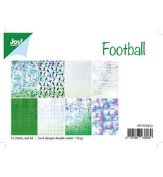 Joy! Crafts paperikko A4 Football, jalkapallo