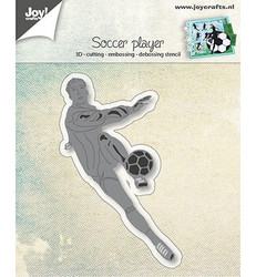 Joy! Crafts stanssi Soccer Player