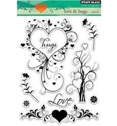 Penny Black love & hugs leimasinsetti