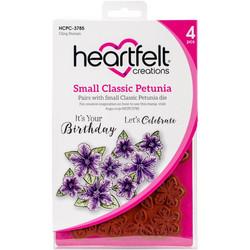 Heartfelt Creations Small Classic Petunia -leimasinsetti