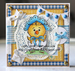 Whimsy Stamps Little One -leimasin