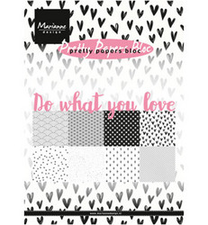 Marianne Design Do What You Love -paperikko