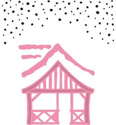 Marianne Design Christmas village chalet stanssi