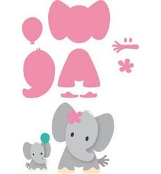 Marianne Design Eline's Elephant stanssisetti, elefantti