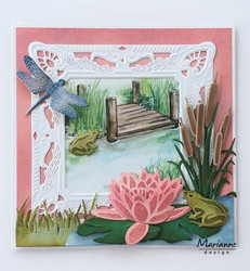 Marianne Design stanssisetti Tiny's waterlily (L)