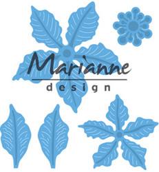 Marianne Design stanssi Petra's Poinsettia, joulutähti