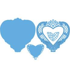 Marianne Designin stanssisetti Anjas Filigree Heart