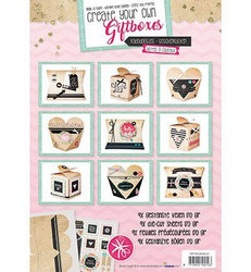 Studio Light Create your own Giftboxes -kirjanen