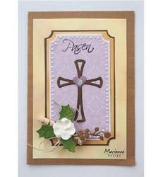 Marianne Design stanssi Graceful Cross, risti
