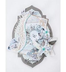 Marianne Design korttikuvat Winter dream, pink