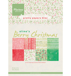 Marianne Design Berry Christmas -paperikko