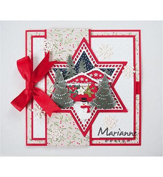 Marianne Design stanssisetti Basic: Christmas star