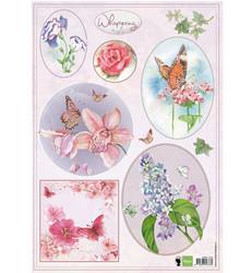 Marianne Design korttikuvat Els whispering - Colour
