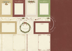 Pion Design The Night before Christmas skräppipaperi Memory Notes