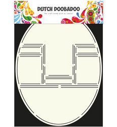 Dutch Doobadoo Card Art Pop Up Card Oval -sapluuna