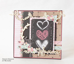Chipboard kuvioleike, Mr & Mrs border