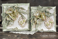 Chipboard kuvioleike, Mr & Mrs hearts