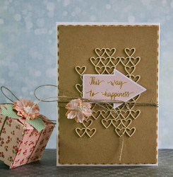 Chipboard kuvioleike, Valentine's Day