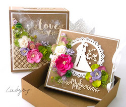 Chipboard kuvioleike, Summer Wedding