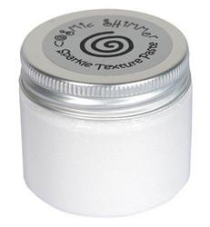 Cosmic Shimmer Sparkle tekstuuripasta, sävy Polar White