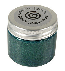 Cosmic Shimmer Sparkle tekstuuripasta, sävy Holly Green