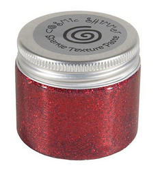 Cosmic Shimmer Sparkle tekstuuripasta, sävy Berry Red