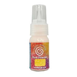 Cosmic Shimmer Pixie Powder -jauhe, sävy Mango Blaze