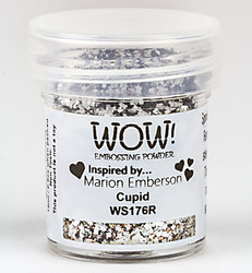 Wow! Embossing Glitters -kohojauhe, sävy Cupid, Regular