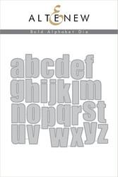 Altenew stanssisetti Bold Alphabet