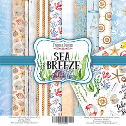Fabrika Decoru paperipakkaus Sea Breeze, 8 x 8