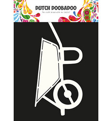 Dutch Doobadoo Card Art Wheelbarrow -sapluuna, kottikärry