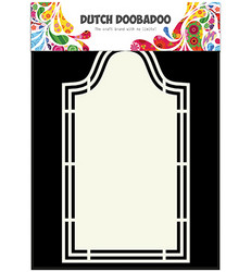 Dutch Doobadoo Shape Art Label 5 -sapluuna
