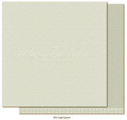 Maja Design Monochromes - Shades of Winterdays skräppipaperi Light Green