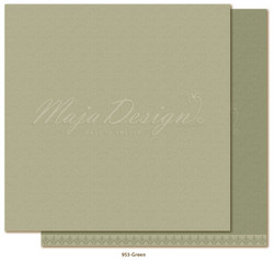 Maja Design Monochromes - Shades of Winterdays skräppipaperi Green