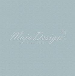 Maja Design Monochromes - Shades of Winterdays skräppipaperi Dusty Teal