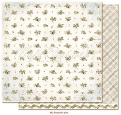 Maja Design Joyous Winterdays skräppipaperi Beautiful Pine