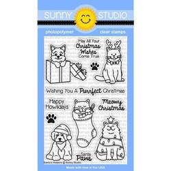 Sunny Studio Stamps leimasinsetti Santa's Helpers
