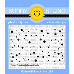 Sunny Studio Stamps leimasin Frosty Flurries
