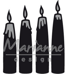 Marianne Design stanssi Advent Candles
