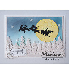 Marianne Design stanssi Santa is coming