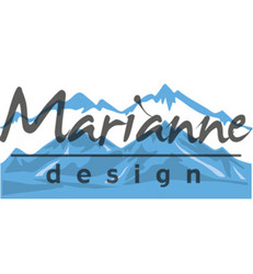 Marianne Design stanssissetti Horizon snowy mountains